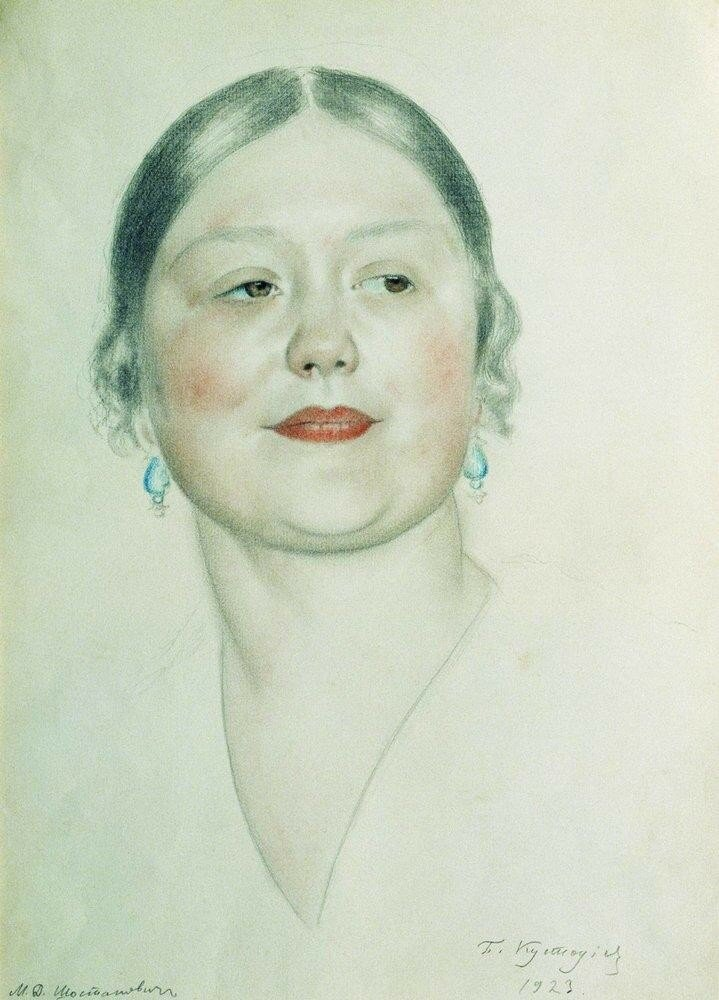 Портрет М.Д.Шостакович. 1923.jpg