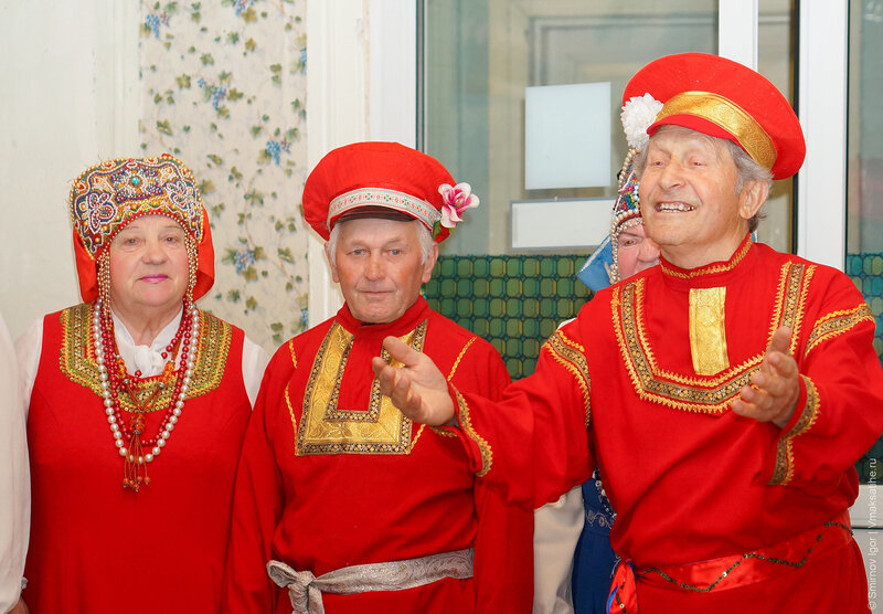 Концерт для престарелых и инвалидов Малышевского дома интерната