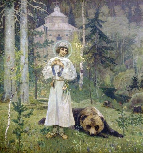 Преподобный Сергий, игумен Радонежский, всея России чудотворец (†1392)