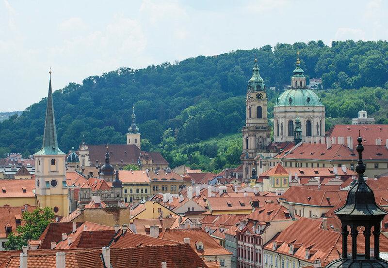 Европа, Чехия, Прага!