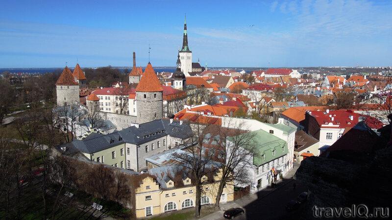 Таллин смотровые площадки