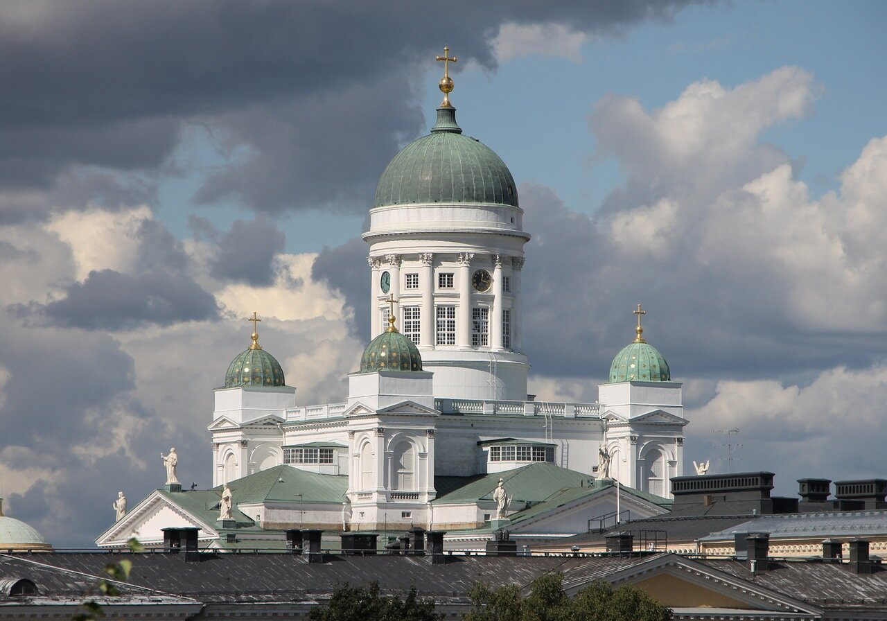 Helsinki. Cathedral of St. Nicholas