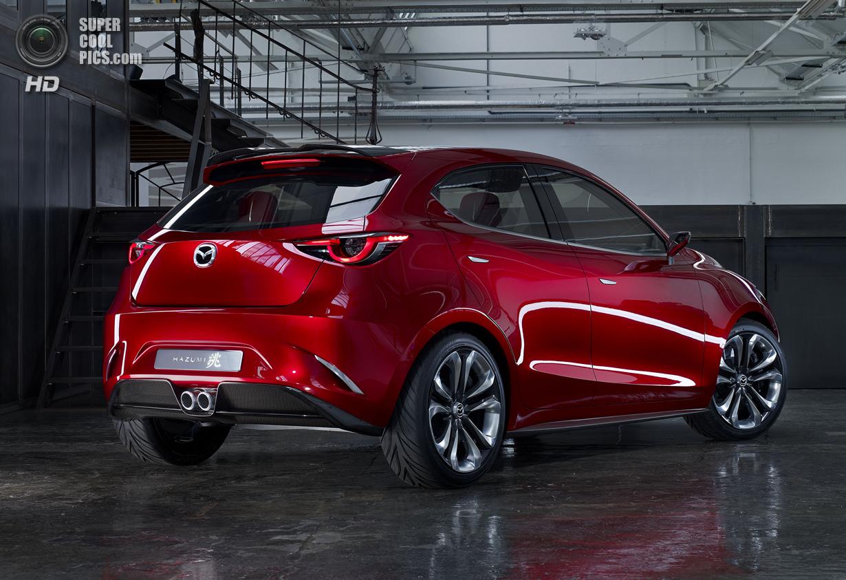 «Прыжок» в будущее Mazda