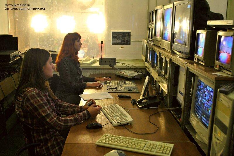 экскурсия блоггеров на телеканале ЛОТ