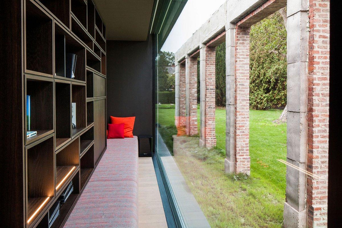 La Branche, реконструкция дома фото, частные дома в Бельгии фото, дома в Хеверле, дома в Ауд-Хеверле, мужской дизайн интерьера, DMOA Architecten