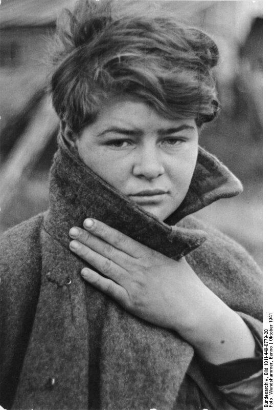 Russland, weibliche Kriegsgefangene