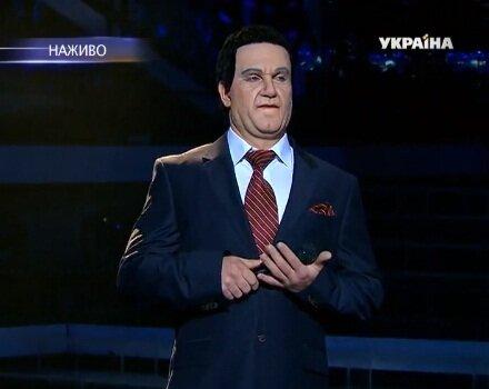 Василий Бондарчук в образе Иосифа Кобзона