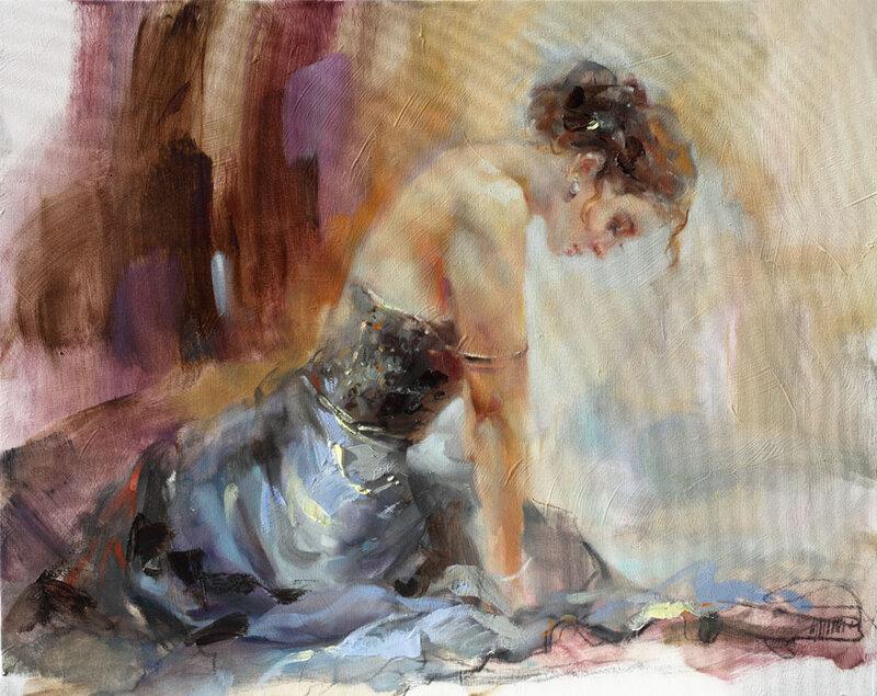 На струнах прекрасной души. Anna Razumovskaya