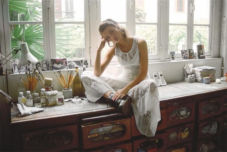 Модели Gabby Dover, Moa Aberg, Magda Laguinge, Nadine Loepold / Urban Outfitters Early Fall 2013 Lookbook