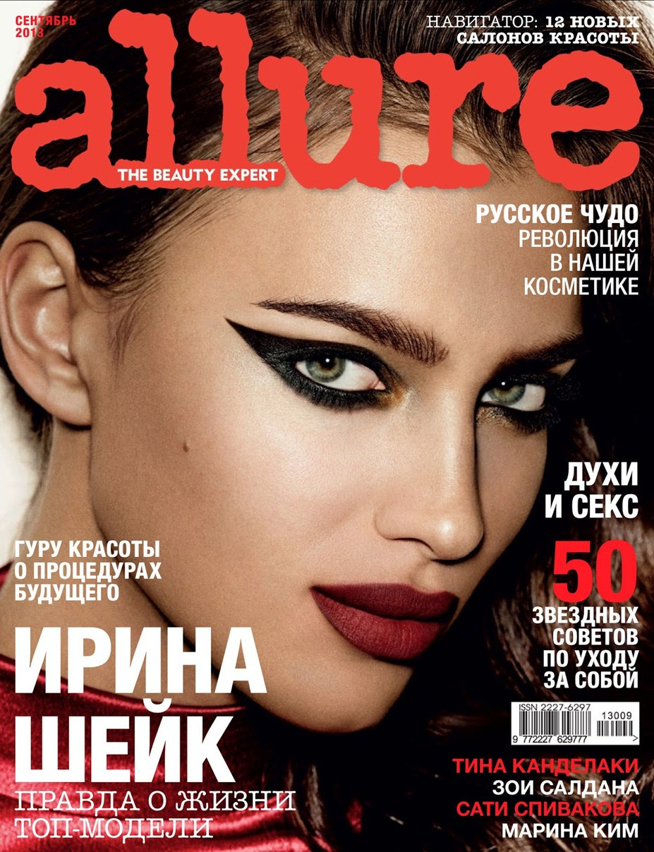 Irina Shayk / Ирина Шейк в журнале Allure Россия, сентябрь 2013 / фотограф Giampaolo Sgura