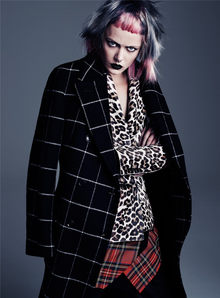 Фрида Густафссон / Frida Gustavsson by Steven Pan in Flair fall 2013