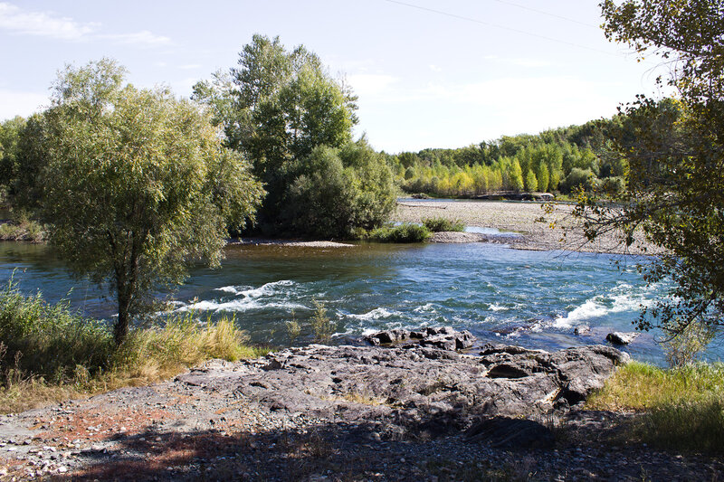 река Курчум