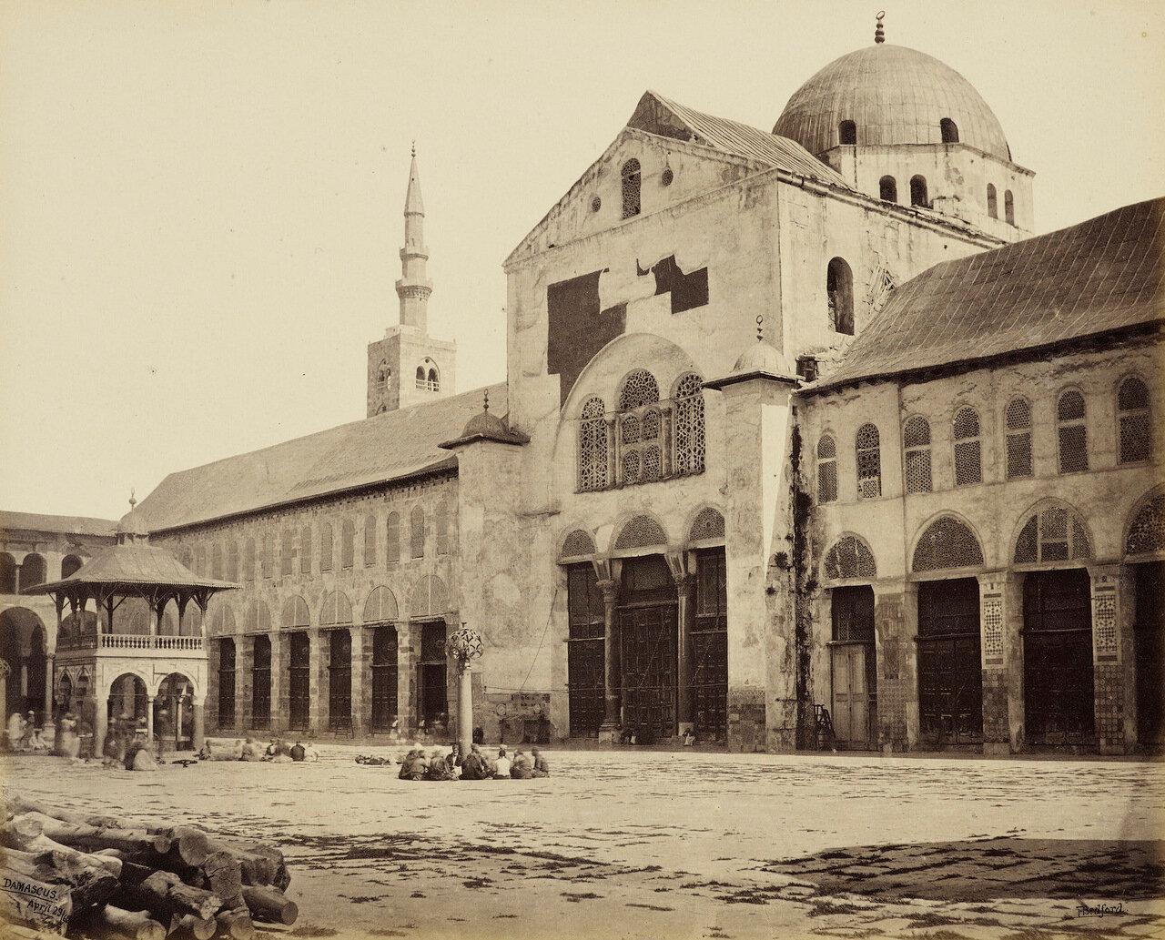 29 апреля 1862. Северная сторона Великой мечети. Дамаск