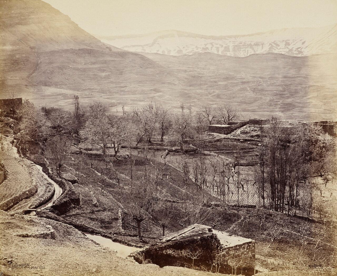 12 мая 1862. Деревня Ehden. Ливан