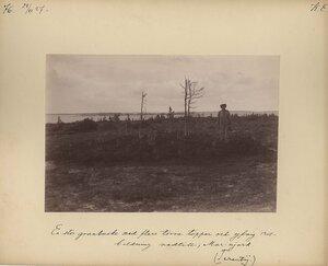 28.7.1887. Терентий возле кустарников на берегу реки Марьйок