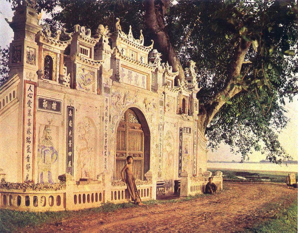 Буддийский храм на пути к Там Дао, 4 июня 1916