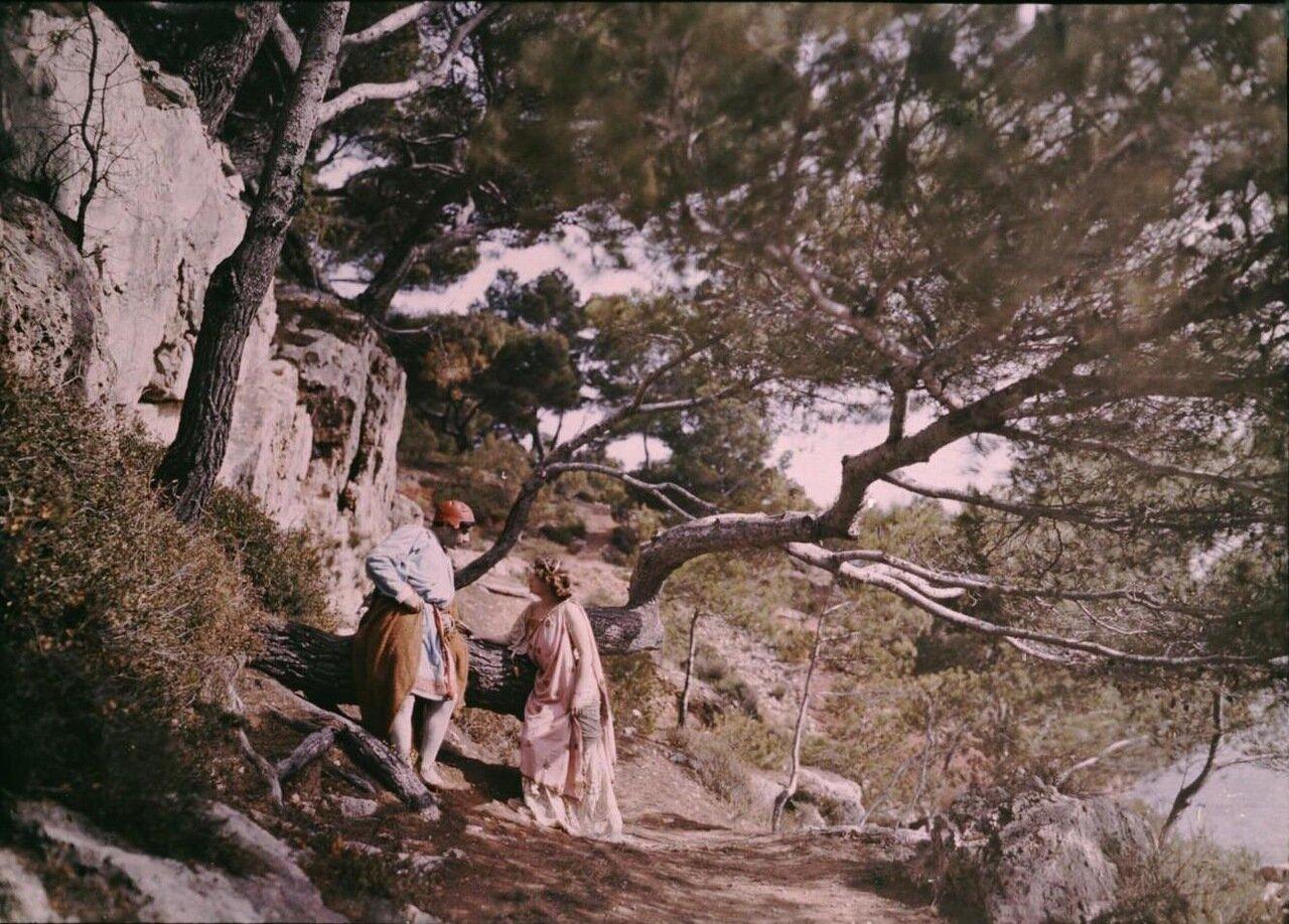 1907. Съемки костюмированной ленты