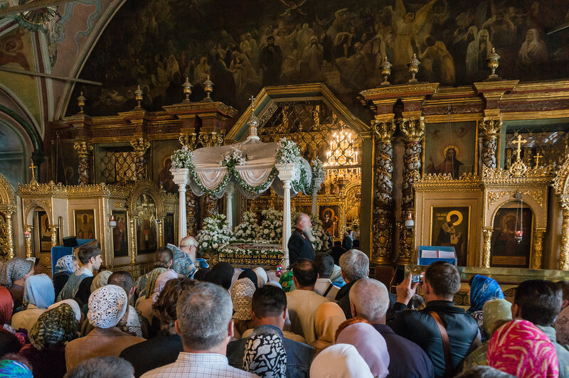 Успение Пресвятой Богородицы - православный праздник в Троице-Сергиевой Лавре