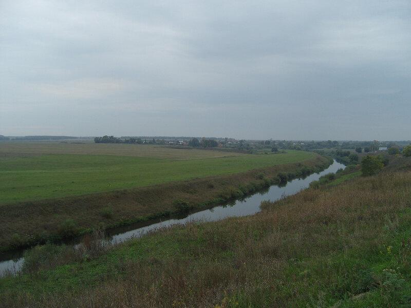 река Осетр у Зарайска
