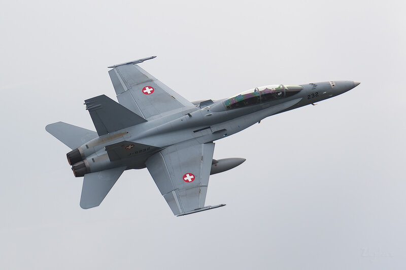 McDonnell Douglas F/A-18D Hornet (J-5232) Switzerland Air Force D801878