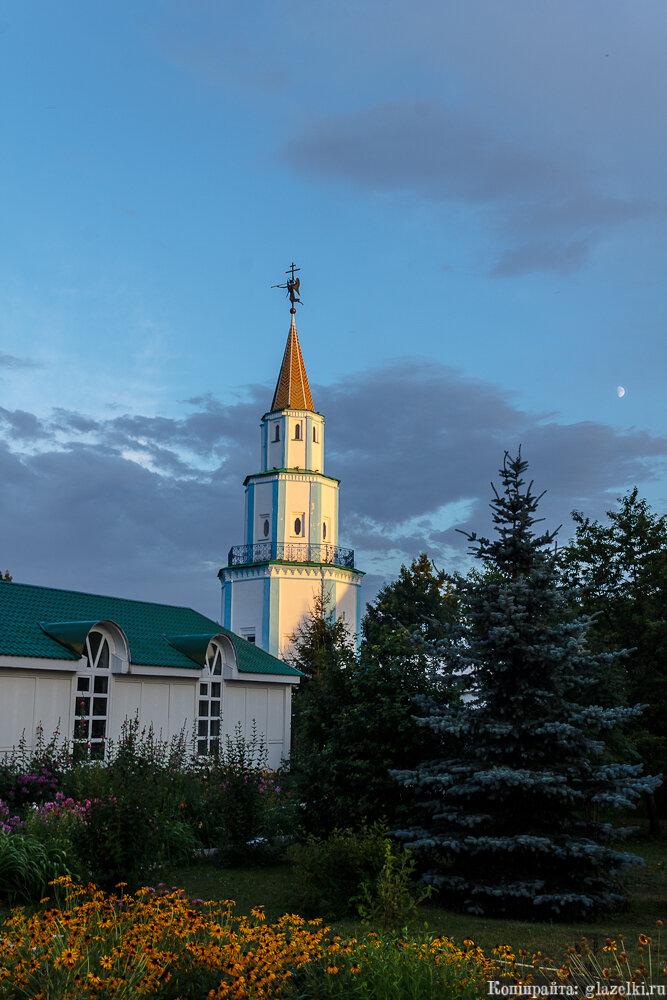 Башня Раифского монастыря.