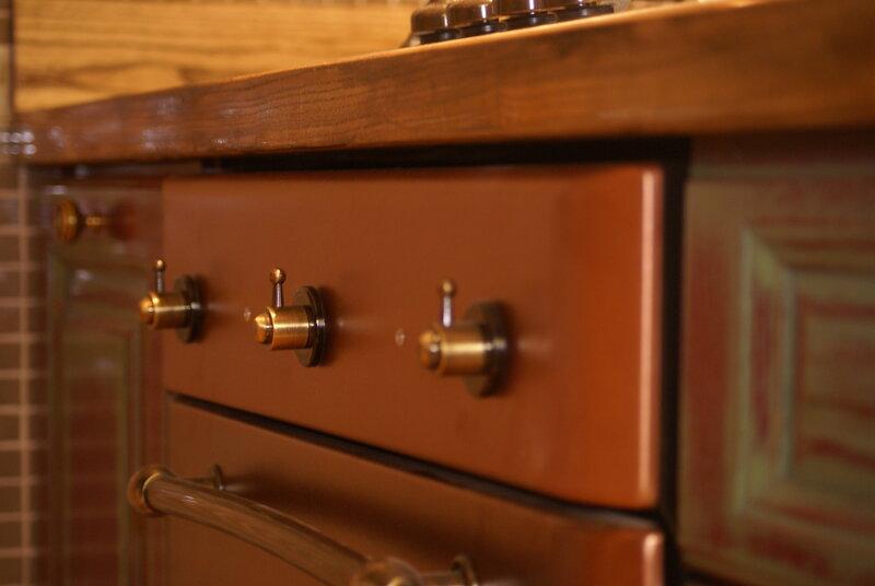 Духовой шкаф в ретро
