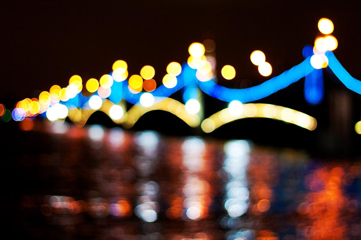 Светоиллюзии большого города