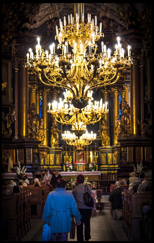 Бернардинский собор внутри