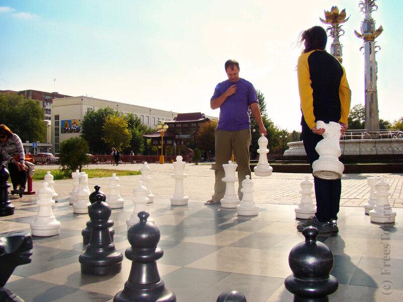 Шахматы в Элисте