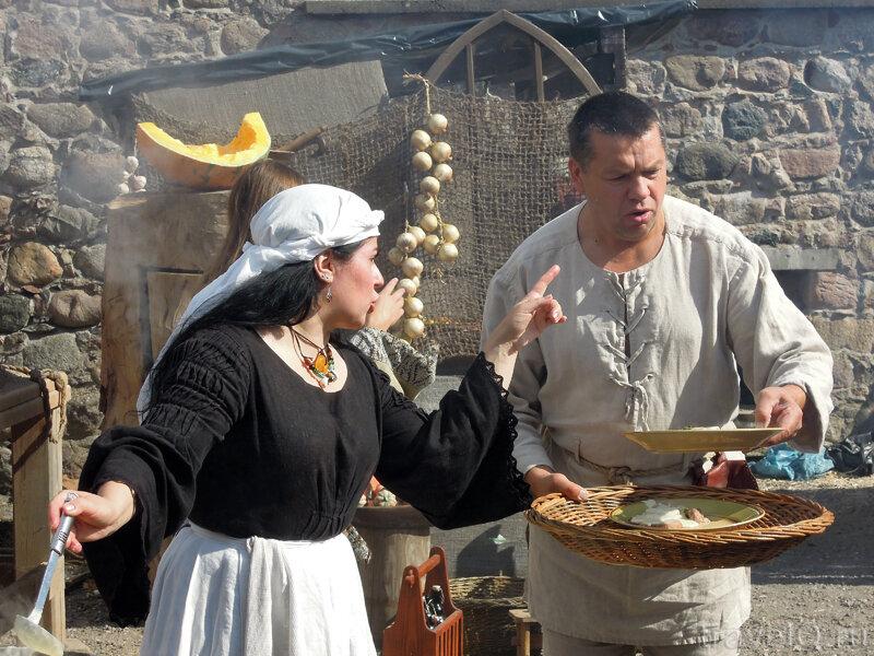 Дни ремесел в Тракае. Историческая кухня