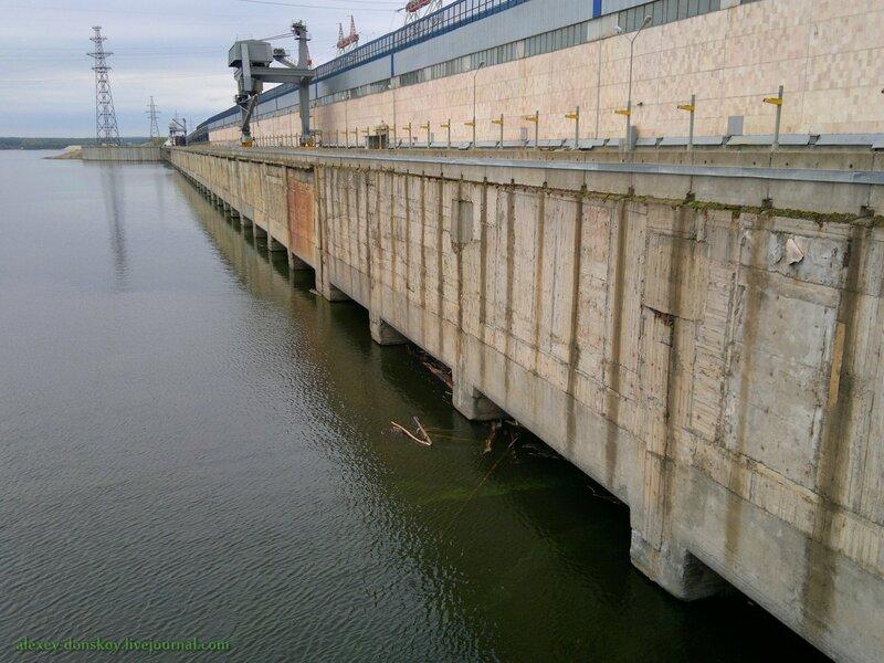 Верхний бьеф Чебоксарской ГЭС