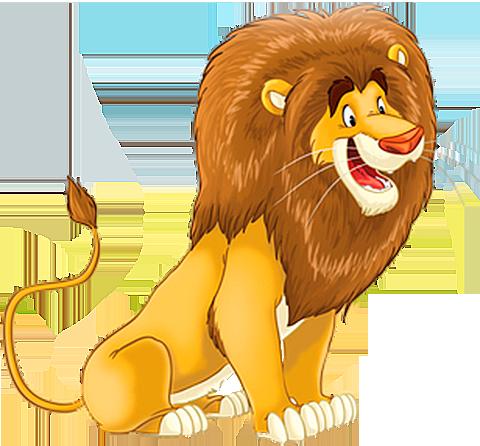 Лев в картинках для детей, открытки