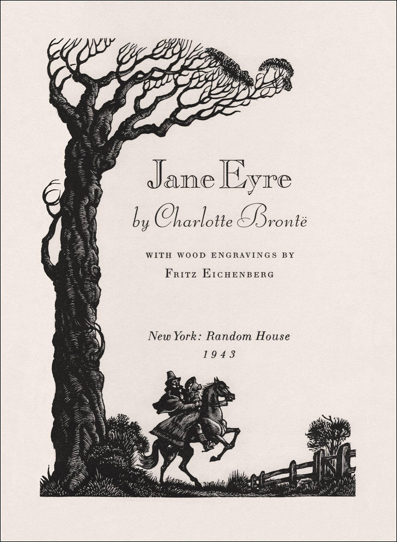 Fritz Eichenberg, Jane Eyre