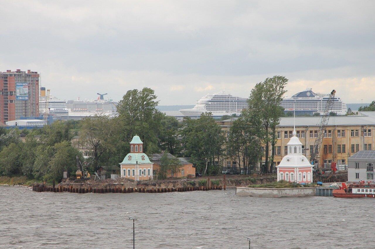 Шкиперский канал, Кроншпицы, Санкт-Петербург