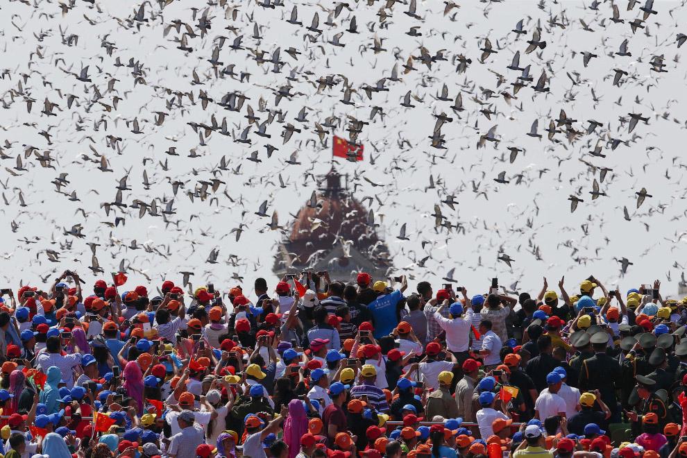 22. Парад в Китае в честь 70-летия окончания Второй мировой войны, Пекин, 3 сентября 2015. (Фото Dam