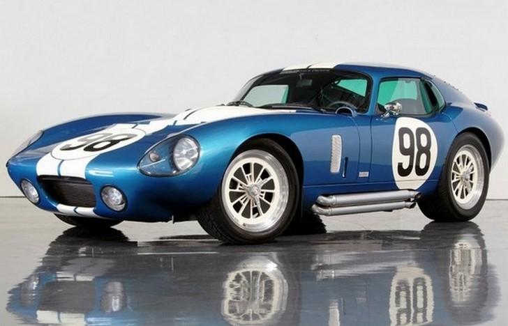 Мечта любого городского плейбоя, Shelby Cobra Daytona Coupe — один из немногих американских автомоби