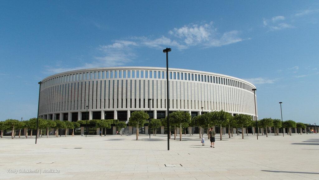 Стадион Краснодар 2017.