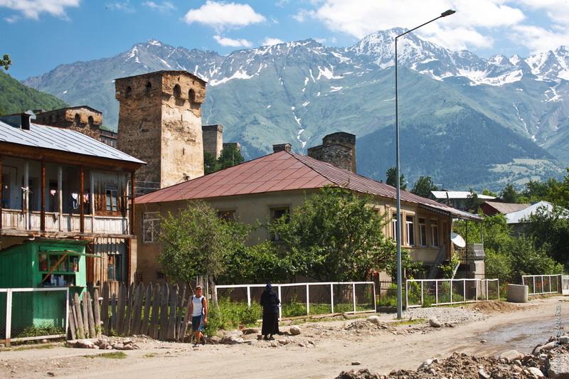 Грузия-Армения 2011. День шестой. Сванетия.