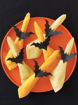 Кольца для салфеток Хэллоуин вечеринки