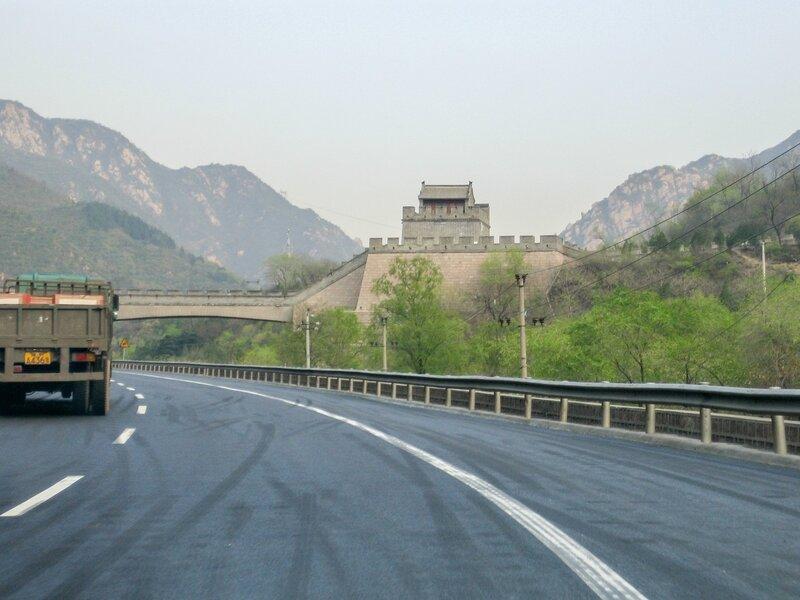 Участок Цзюйюнгуань, Великая китайская стена