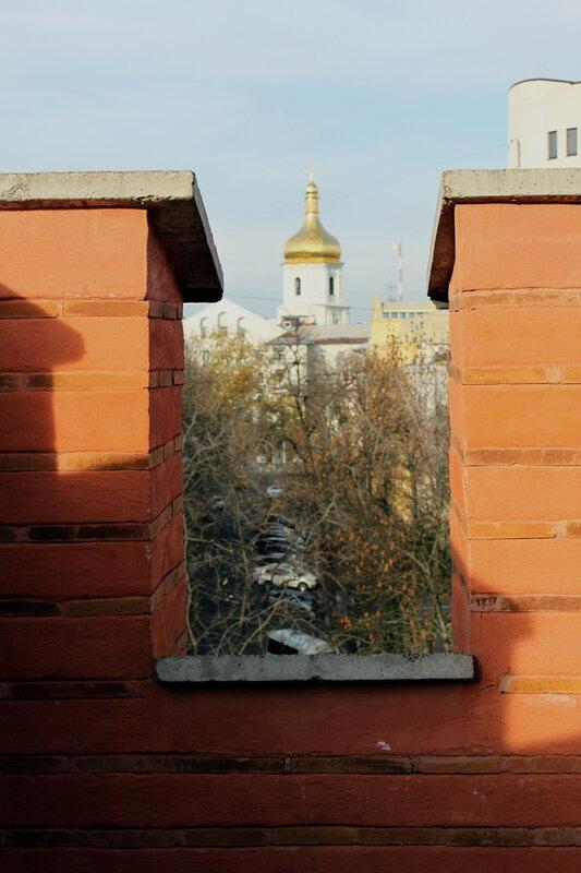 Вид на Софию Киевскую
