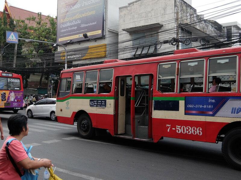 Бангкок - Автобус