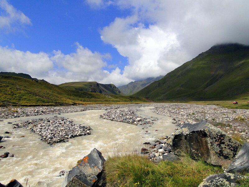 Река  Кызылкол