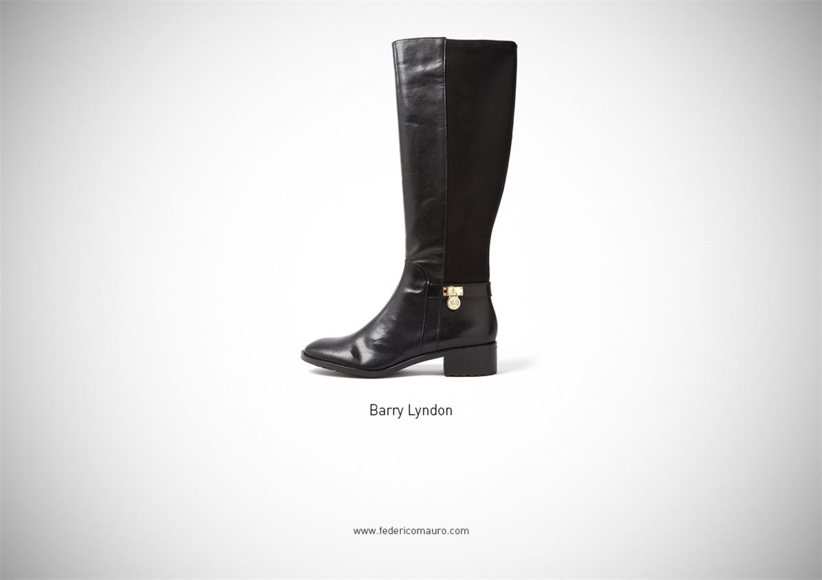 Знаменитая обувь культовых персонажей / Famous Shoes by Federico Mauro - Barry Lyndon