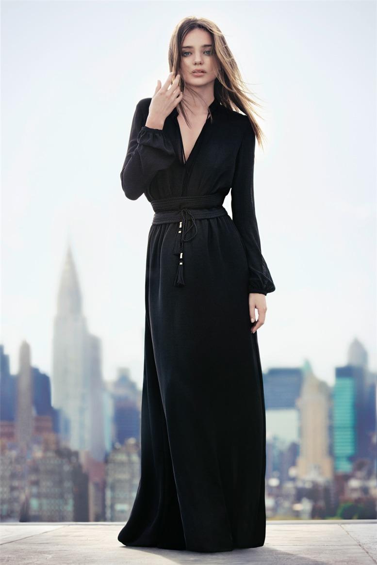 Miranda Kerr / Миранда Керр в рекламной кампании Mango, осень 2013 / фотографы Inez & Vinoodh