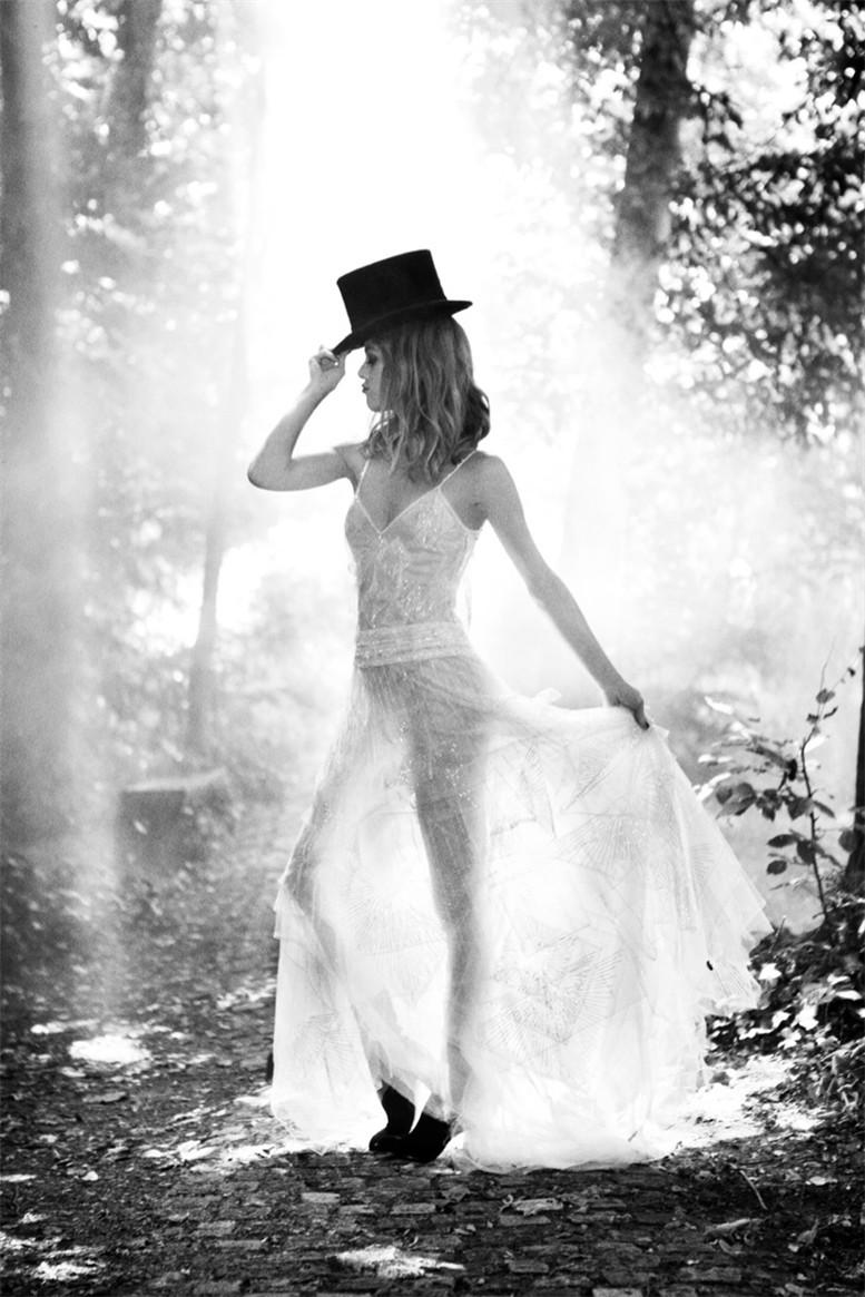 Vanessa Paradis / Ванесса Паради, фотограф Ellen von Unwerth в журнале Madame Figaro, октябрь 2013