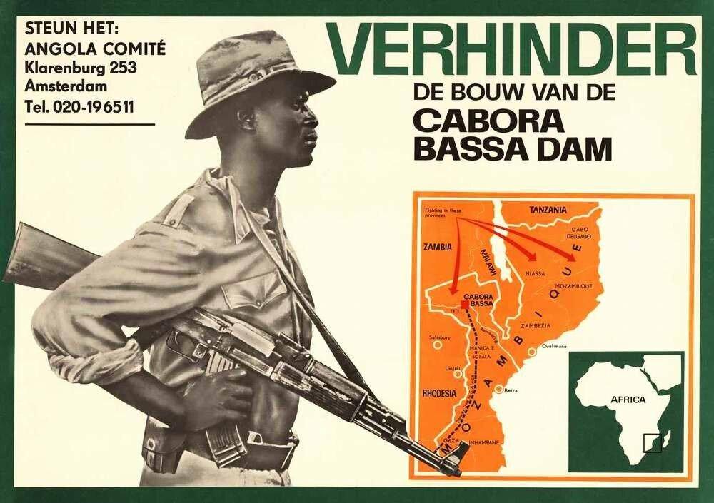 Комитет по Анголе: Предотвратить строительство плотины Кабора Басса в Мозамбике