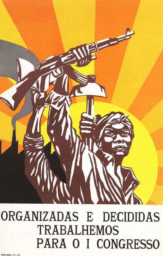 1 Конгресс Союза ангольских женщин - организоваться и определить сферы свой деятельности