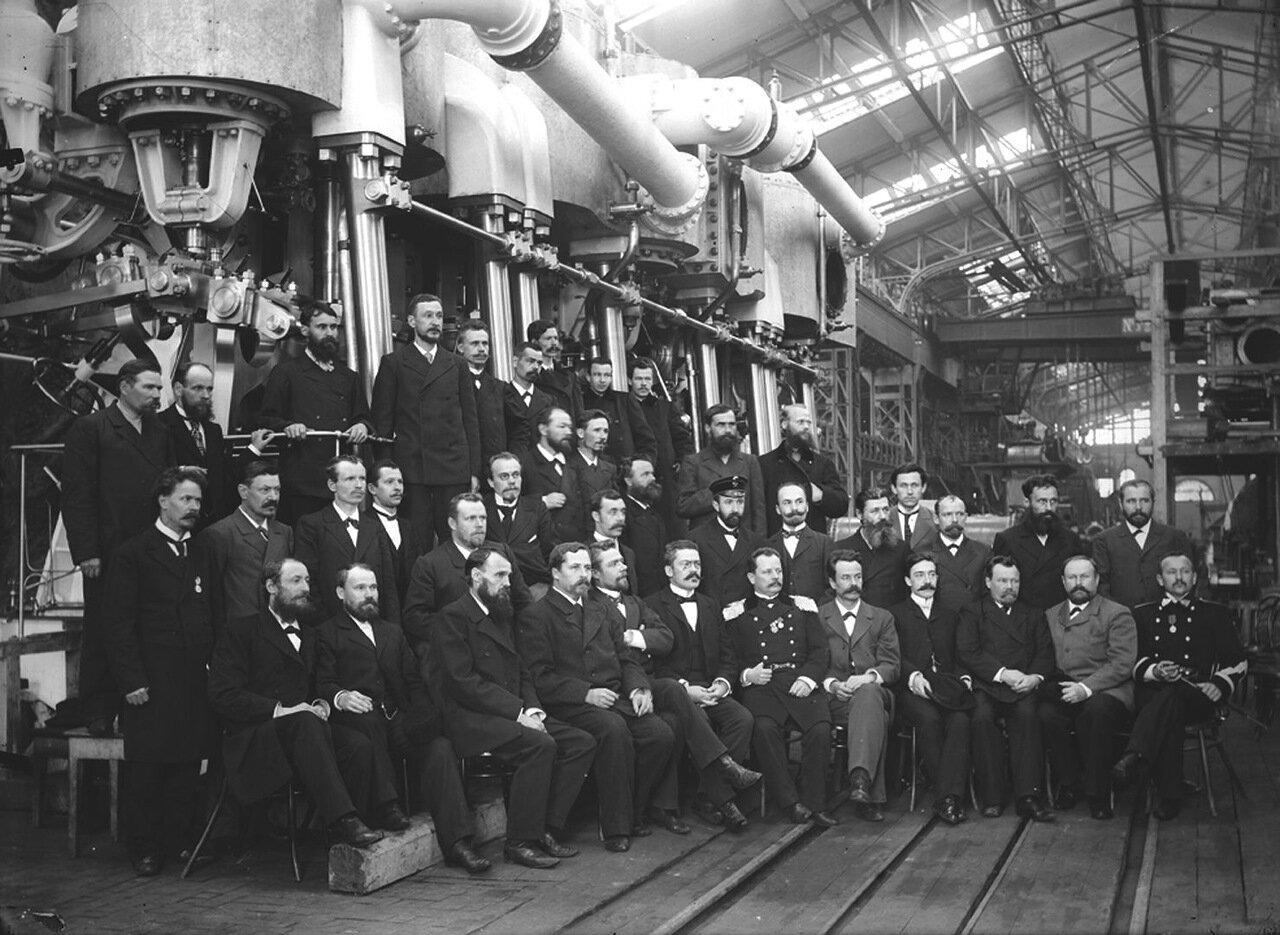 Строители механизмов крейсера «Очаков»