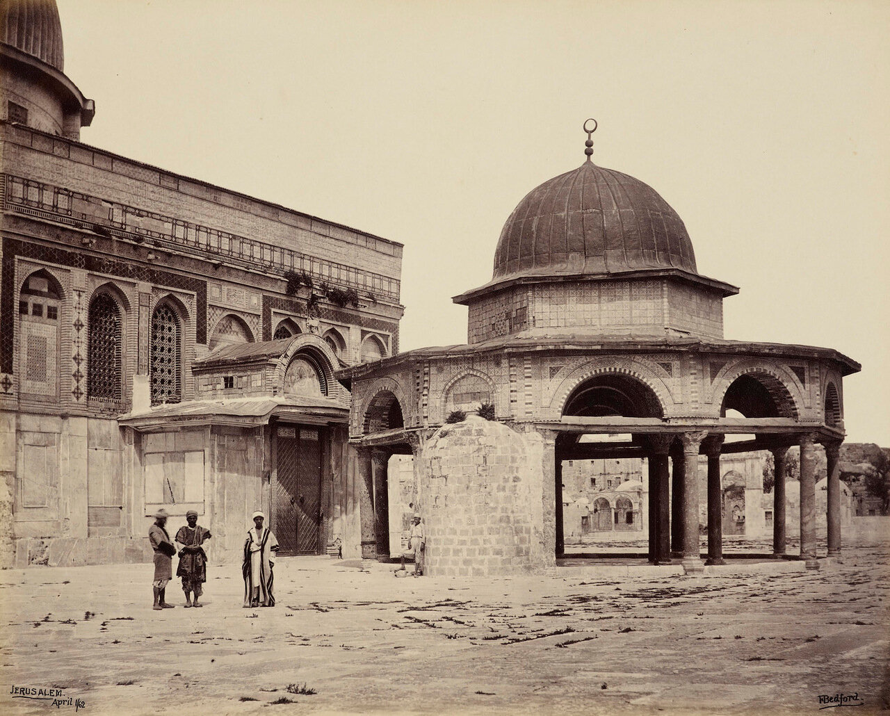 1 апреля 1862. Мечеть Омара , Иерусалим